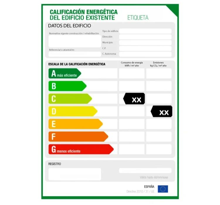 clasificación energética